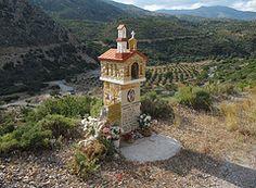 Roadside shrine near Sougia by amcgore