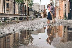 Hoboken engagement session in NJ, captured by Hoboken wedding photographer Ben Lau.