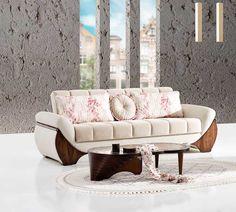 Vespero Akdeniz Kanepe Wooden Sofa Designs, Sofa Set Designs, Sofa Furniture, Furniture Design, Unique Sofas, Living Room Sofa Design, Sofa Frame, Luxury Sofa, Modern Sofa