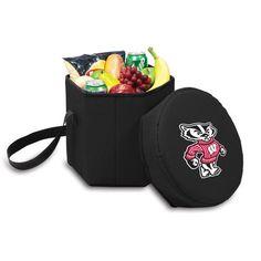 University of Wisconsin Badgers Bongo Cooler - Black