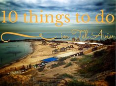 10 things to do in Tel Aviv