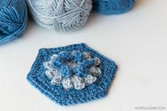Dahlia Hexagon - Free Crochet Pattern