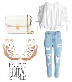 """My festival look"" by anielle-fashion on Polyvore featuring Caroline Constas, GUESS and Valentino"