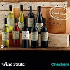 Checkers | Wine - The Checkers Wine Route is famous for its extensive selection of local and international wines, as well as its commitment to offering the finest estate wines at cellar prices.