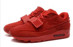 94e970612 Buy 2015 Newest Nike Air Yeezy II 2 Sp Max 90 The Devil Series Trainers All  Red West Mens Shoes Online Sale Best from Reliable 2015 Newest Nike Air  Yeezy II ...