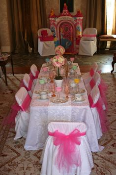 is official im going to have a Princess Tea Party for the girls i nanny this summer