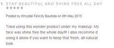 Rimmel Stay Matte Primer, Makeup Online, Krystal, Philippines, Store, Face, Larger, The Face, Crystal