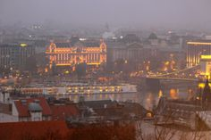 Photo from Buda of Pest from the Hilton. The Hilton Budapest hotel is located in the heart of the Royal Castle District—a UNESCO World Heritage Site within the Buda side of the city. #Viking Social