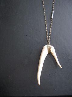 Oh deer.. I might need an antler necklace.