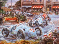 Vaclav Zapadlik Classic Car painting