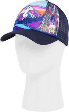 3a0ac5d18609b Sunday Afternoons Mountain Trucker Hat Clothing Accessories