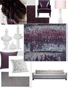 Unique Mauve Grey Color Scheme