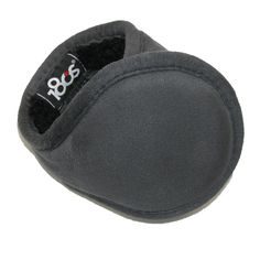 180s Mens Faux Suede Wrap Around Earmuffs. Collapses for easy carrying and storage