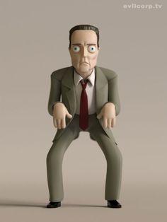Amazing vinyl toys of Bill Murray, Mighty Boosh, IT Crowd, The Shining & Christopher Walken | Dangerous Minds