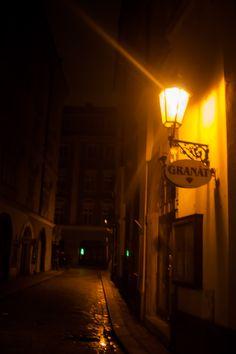 Prague night in Czech Republic