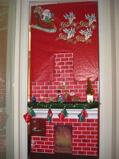 Door Decorating on Pinterest  Office doors, Christmas door decorating ...