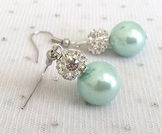Hey, I found this really awesome Etsy listing at https://www.etsy.com/au/listing/231381826/mint-green-bridesmaid-rhinestone-pearl