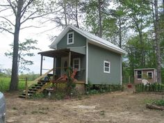 2 bedroom perfect tiny mortgage free home built for $8000.