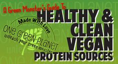 Choosing the right proteins for ingestion is paramount to maintaining a healthy diet, so from Green Monster to Green Monster, we give you a list of the top seven cleanest sources of protein. Plant Based Nutrition, Vegan Nutrition, Plant Based Diet, Vegan Meat Recipe, Vegan Recipes, Protein Recipes, Vegan Foods, Vegan Protein Sources, Vegetarian Protein