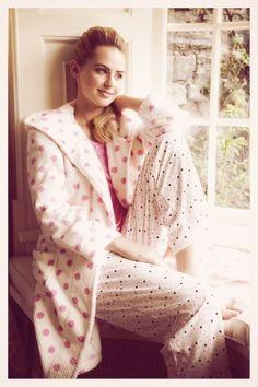 PRshots.com :: Christmas Morning Pyjamas Hooded Waffle Robe with Confetti Pyjama   Heatons