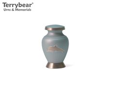 Terrybear Aria Dolphin Keepsake. This Keepsake can hold a small amount of cremated remains.