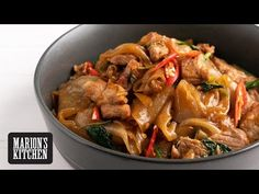 Asian Food Products - Clean, Honest Ingredients | Marion's Kitchen | Pork Belly Drunken Noodles