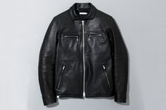 Deluxe 2013 Spring/Summer Ton-up Leather Jacket.