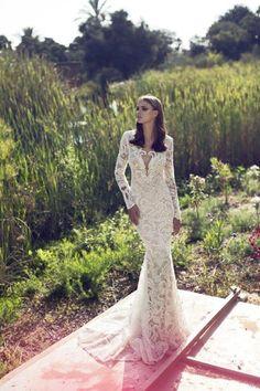 Hadas Cohen - SocialBride Bridal Gowns, Wedding Gowns, Lace Wedding, Mermaid Wedding, Wedding Styles, Formal Dresses, Inspiration, Shopping, Fashion