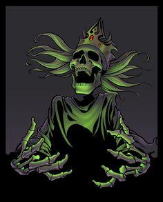 Lich King by TomMartinArt