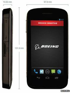 Boeing makes 'self-destruct' top secret smartphone