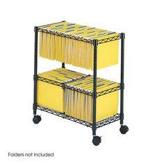 File Carts – Ultimate Office File Cabinet Desk, Filing Cabinets, Hanging File Folders, Large Shelves, Metal Shelves, Hanging Files, Rack Shelf, Home Office Furniture