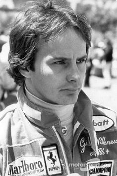 Gilles Villeneuve(CDN) Born 18, January 1950 DIed 8, May 1982(Age 32) Killed During Qualifying for the Belgium Grand Prix, Circuit Zolder