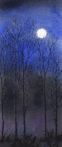 'Winter Moon' by Barbara Fox