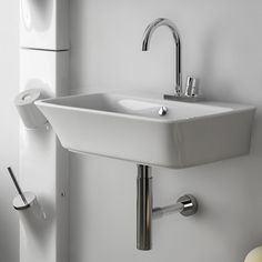 Seen with sink siphon and Sotto Ceramic System
