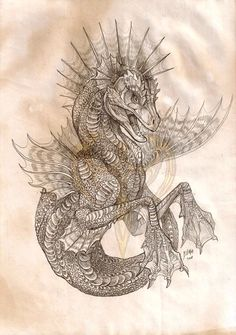 Dragon horse water serpent thing