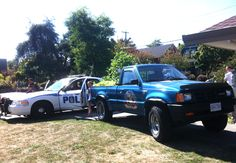 Busted at the Strathcona Harvest Festival by our favorite community cop Ali Gailus!