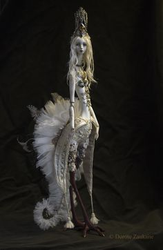 Fantasy | Whimsical | Strange | Mythical | Creative | Creatures | Dolls | Sculptures | Dorote Zaukaite 2014