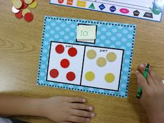 Part Part Whole FREEBIE! (workmats and matching game)