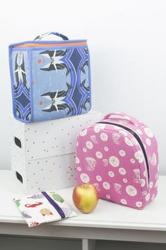 These insulated lunch bags are the perfect break to the day! Included in the pattern are two different styles of lunch bags(a rounded lunch bag for the intermediate sewist, and a top zip lunch bag for the advanced sewist). Whether you make them for a child or an adult, they are just the right size to fit a sandwich, several snacks, and a drink. Also included in the instructions are zippered snack bags in two different sizes – one for snacks, and another for a sandwich! The pdf pattern…