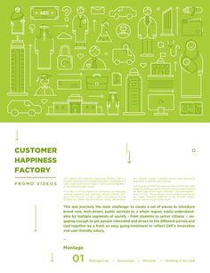 Customer Happiness Factory - 8x Explainer Videos on Behance