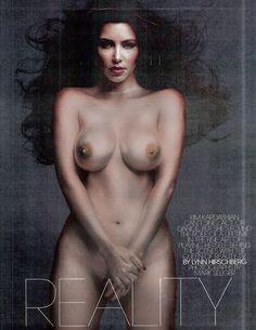 Kim Kardashian Playboy | Kim Kardashian Naked in W Magazine (5) | Graphicglitz
