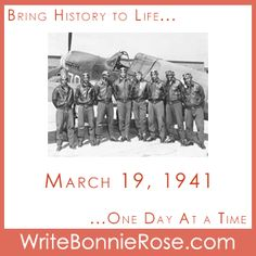 """FREE Timeline Worksheet: March 19, 1941: The Tuskegee Airmen started their training for active duty in World War II. Today's story finds a boy trying to figure out if all jobs are important in """"On the Ground and In the Air."""" - WriteBonnieRose.com Tuskegee Airmen, Short Stories For Kids, History Magazine, S Stories, World War Ii, Wwii, Lesson Plans, Christian Homeschool, Parents"""