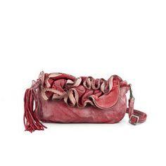 Bolso de piel rojo CATERINA LUCCHI www.sanci.es Fashion Art, Boho Fashion, Boho Life, Color Me Beautiful, Pink Candy, Colour, Inspired, Nature, Bags