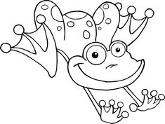 frog color pages for kids activity shelter coloring pages for