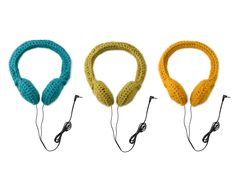 Crocheted Headphones $35.00
