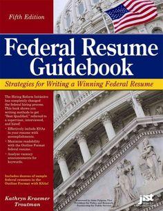 Federal Resume Guidebook Strategies For Writing A Winning Federal Resume