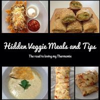 The road to loving my Thermomix: Hidden Vegetable Meals and Tips for Children (and husbands!)