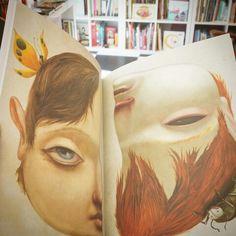 """""""Historia de un niño bueno e historia de un niño malo"""" por #marktwain ilustradas por @el_olmos"""