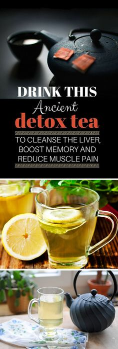 Drink This Ancient Detox Tea To Cleanse The Liver Boost Memory and Reduce Muscle Pain - Home Remedies-Theres no shortage of recipes for detoxifying teas and other beverages but unlike many this recipe has withstood the test of time. An Indian home rem Liver Detox Cleanse, Detox Your Liver, Body Detox, Indian Home Remedies, Natural Home Remedies, Holistic Remedies, Homeopathic Remedies, Detox Tee, Weight Loss Detox
