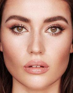 Gold Eyeshadow Palette, Rose Gold Eyeshadow, Cream Eyeshadow, Eye Palette, Hazel Eye Makeup, Rose Gold Makeup, Wedding Makeup For Brown Eyes, Wedding Hair And Makeup, Brown Eyes Makeup